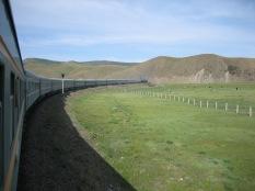 Mongolia train